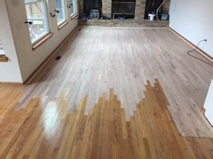 Jacobean Stain Red Oak (Before and After)   August Hardwoods