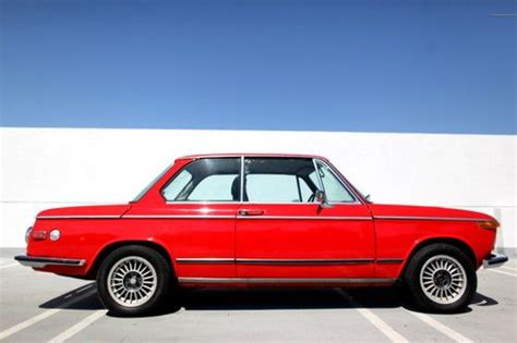 Sell used 1973 BMW 2002 4-Speed Verona Red / Black in