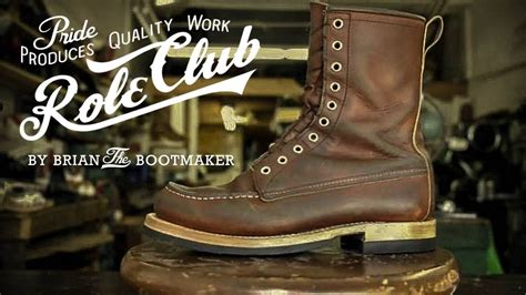 Red Wing Moc Toe 877 Resole #26 - YouTube