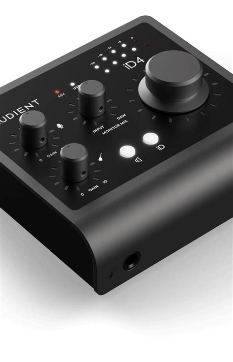 iD4 - 2in / 2out Audio Interface - Your recordings made better