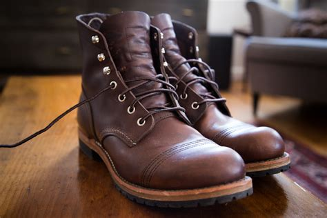 Red Wing Boots: Loss and Renewal — The Hand & Eye