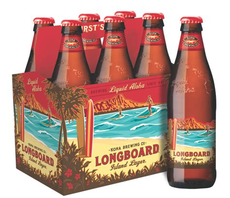 Kona Brewing Unveils Yet Another Package for Longboard