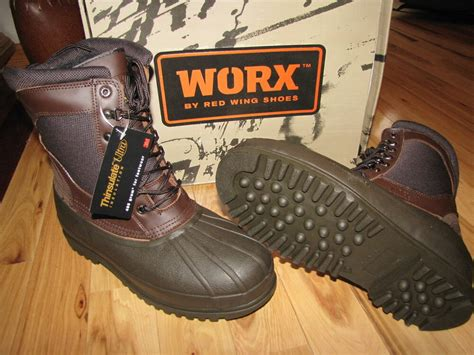 RED WING SNOW PAC WINTER BOOTS INSULATED WATERPROOF