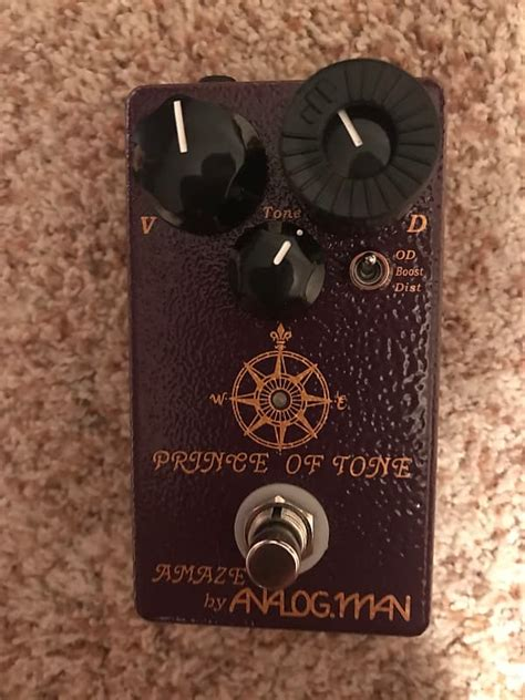 Analogman Prince of Tone Overdrive Pedal | Justin's Gear