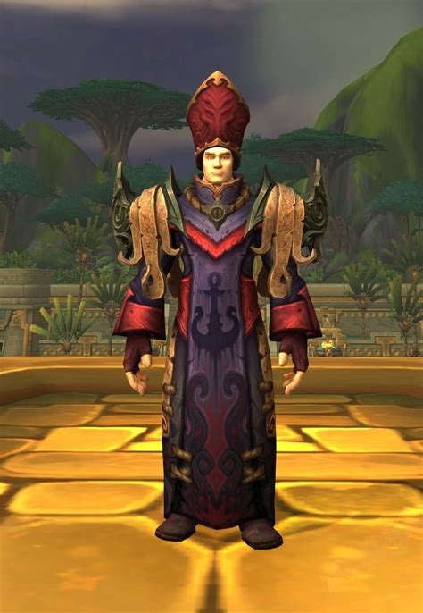 Ensemble: Vestments of the Tidesages - Item - World of