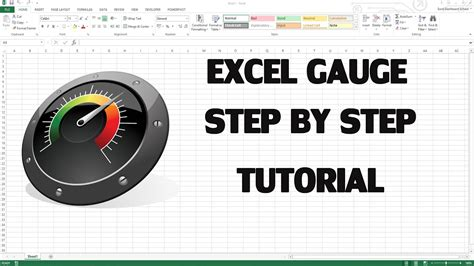 How to create Excel KPI Dashboard with Gauge control - YouTube