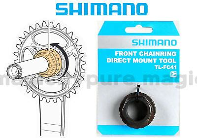 Shimano (TL-FC41) DM Chainring Installation Tool For FC