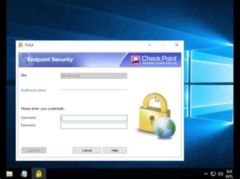 Checkpoint VPN Client - YouTube