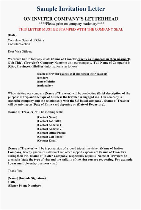 Company Formal Letter Templates At Main Image - Visitor