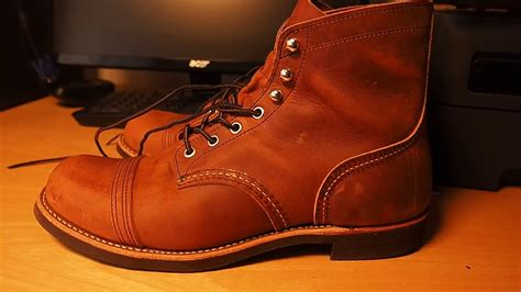 Red Wing Iron Ranger 8085 - Copper Rough & Tough - YouTube