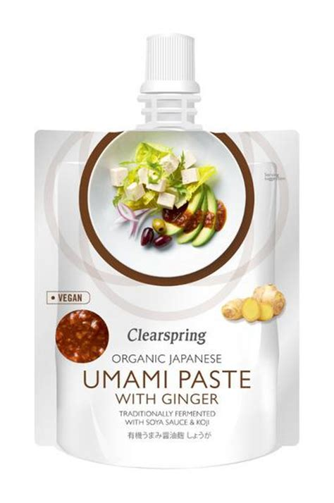 Umami Paste With Ginger in 150g from Clearspring