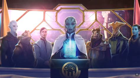 Stellaris: Federations announced, expanding space