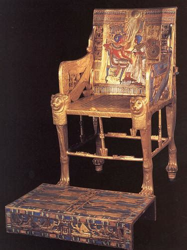 Mummy and Tomb Of Pharaoh (Ramses II) And Furniture Of