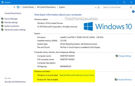 Product Key - Uninstall to Deactivate Windows 10 - Windows