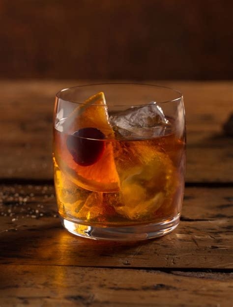 Maple Old-Fashioned | Old fashion cocktail recipe, Old