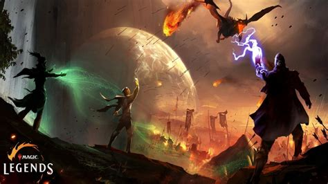Magic: The Gathering MMO Magic: Legends Beta Coming In
