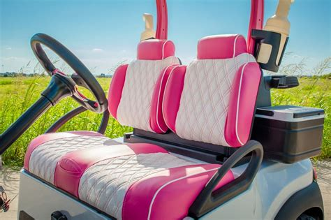 Pink For The Course Golf Cart   Excessive Carts