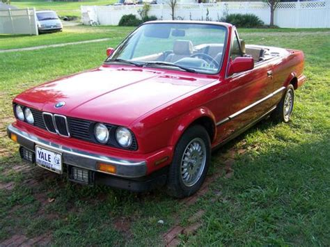 Buy used BMW 325 1990 Red Convertible 3-Series Classic in