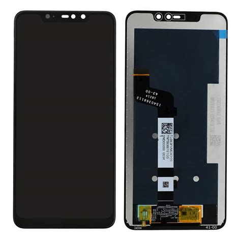Redmi Note 6 Pro Display and Touch Screen Glass Combo