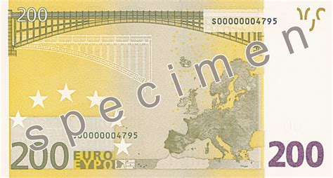 200 Euro banknote - Counterfeit money detection: know how